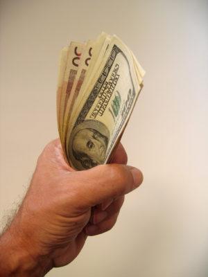 fist full of money